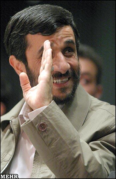 محمود احمدی نژاد President Ahmadinejad