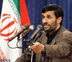 Pres Ahmadinejad دکتر محمود احمدی نژاد